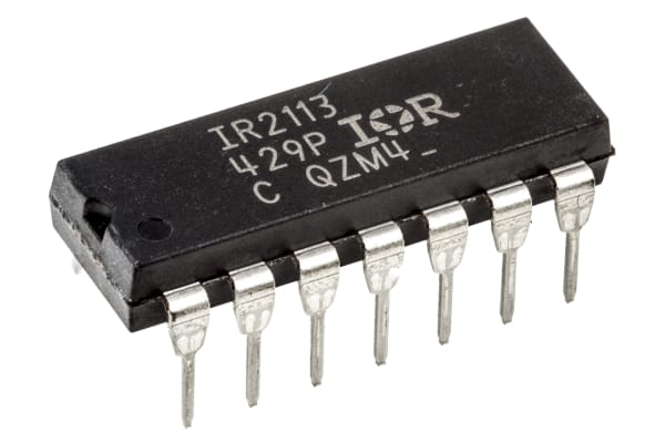 Product image for MOSFET/IGBT driver ,IR2113 DIP14 200mA
