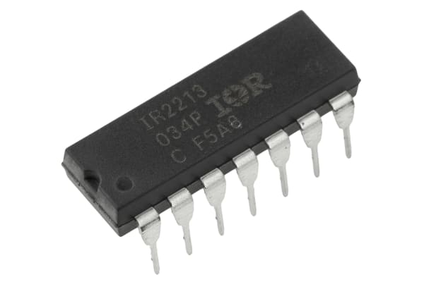 Product image for MOSFET/IGBT driver IR2213 DIP14 2500mA