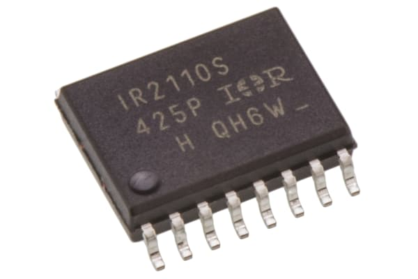 Product image for MOSFET/IGBT driver IR2110S SOIC16 2A