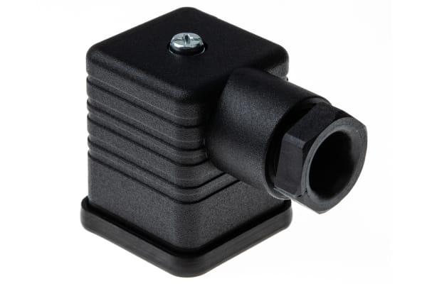 Product image for GDM 3P+E BLACK HOUSED SOCKET M16