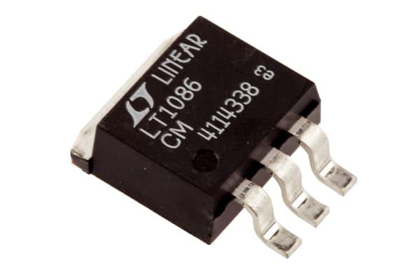 Product image for Voltage regulator,LT1086CM 23.5V