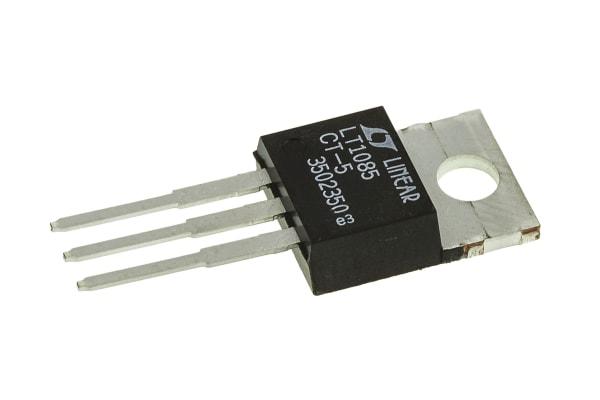 Product image for 3A,5V,LDO Voltage Regulator,LT1085CT-5