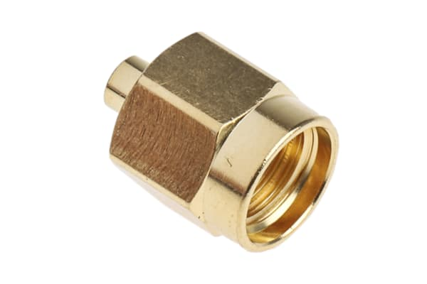 Product image for Solder SMA straight plug for RG405 cable