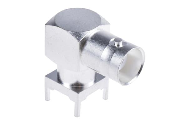 Product image for SilverPt BNC 90 deg PCB mount socket