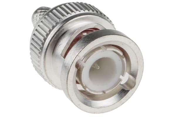 Product image for RS AgPt crimp BNC straight plug-RG58