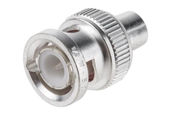 Product image for BNC plug termination,50ohm 1GHz/0.5W