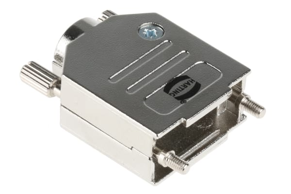 Product image for Harting Metal D-sub Connector Backshell, 9 Way