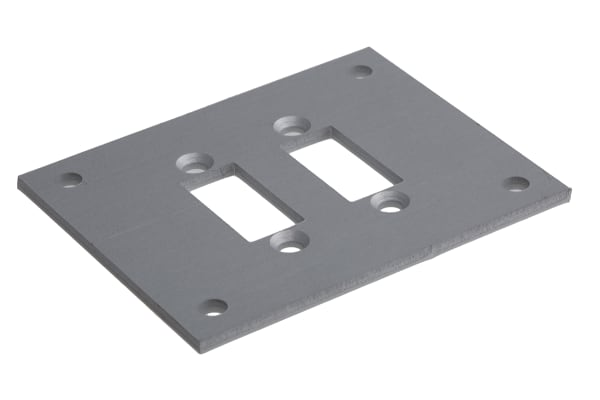 Product image for 2way faceplate for mini skt w/brackets