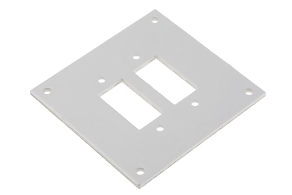 Product image for 2way faceplate for std skt w/brackets