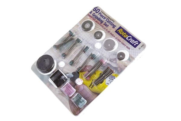 Product image for 60 piece cut/grinding set