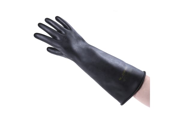 Product image for BM Polyco Chemprotec, Black Work Gloves, Size 9