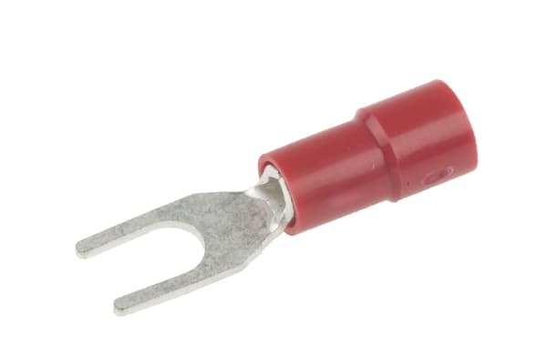 Product image for Red M3.5 spade terminal,0.5-1.5sq.mm
