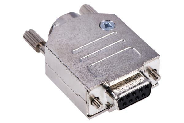 Product image for Amphenol ICC 9 Way Panel Mount D-sub Connector Socket