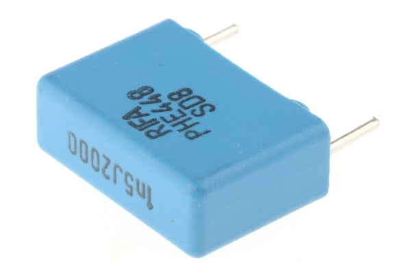 Product image for Radial polyprop cap,1.5nF 2kV 15mm