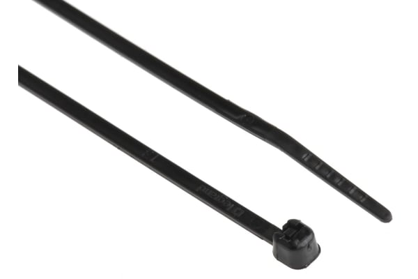 Product image for BLACK CABLE TIES 6/6