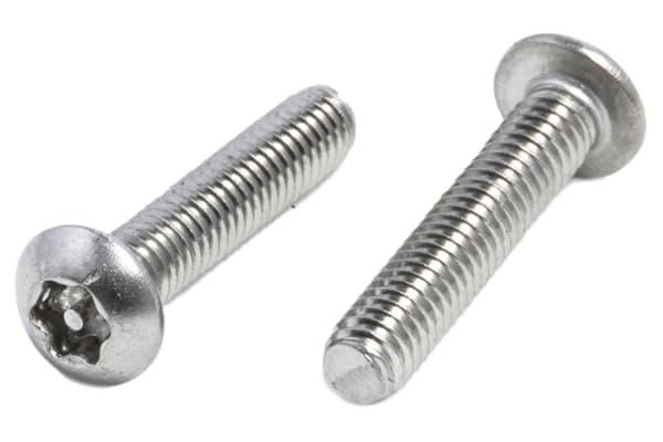 Product image for Tamperproof Pin 6 Lobe butA2 M4x20