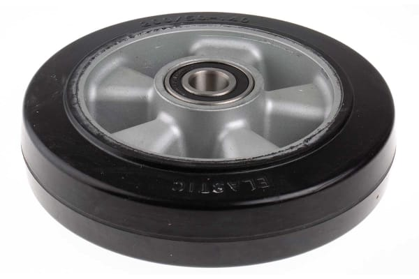 Product image for +200mm elastic r/tyred wheel