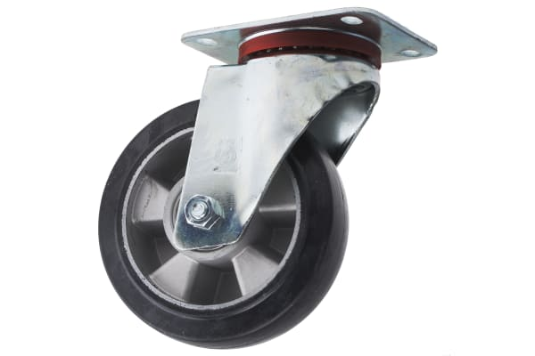 Product image for 160MM ELASTIC R/TYRE SWIVEL