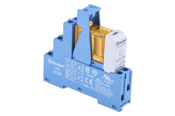 Product image for DPDT RELAY INTERFACE,8A 230VAC COIL