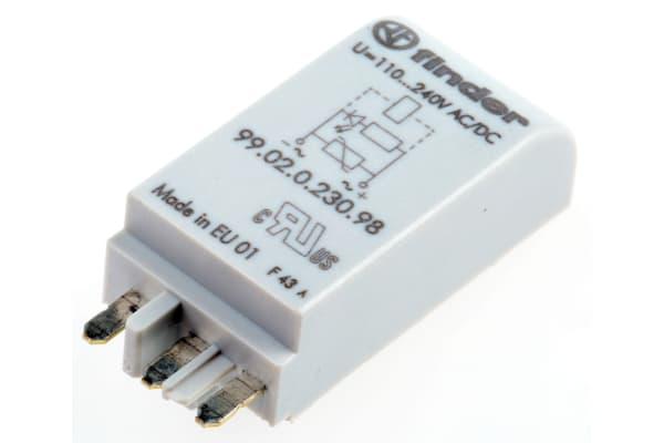 Product image for LED&varistor module,99.02.00230.98 240V