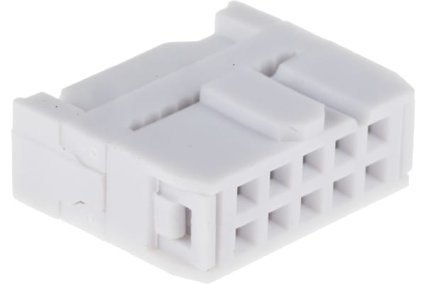 Product image for 10 way IDC bump polarised socket,1A
