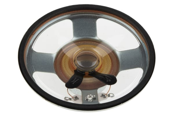 Product image for Mylar unflanged cone speaker,1.5W 66mm