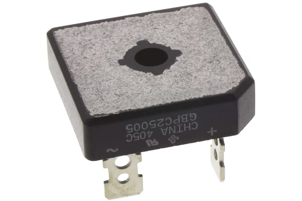 Product image for Bridge Rectifier Single 50V 25A GBPC4