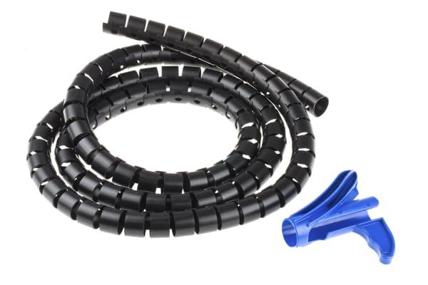 Product image for Black cable Helawrap HWPP25L2