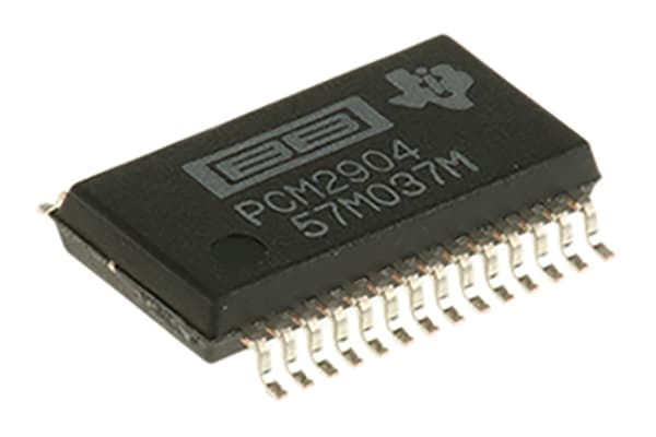 Product image for AUDIO CODEC 1ADC / 1DAC 16-BIT 28-PIN