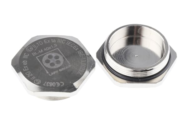 Product image for Blanking Plug M40 Metal ATEX IP68