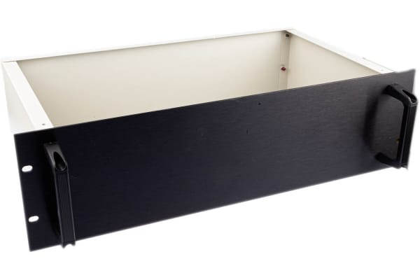 Product image for 19in. Rack Case 3Ux250mm Black F/Panel