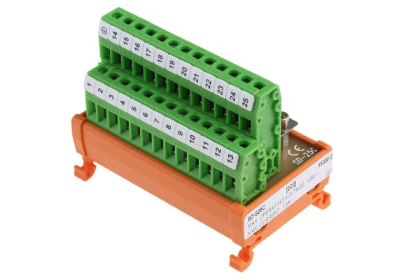Product image for D-sub connector interface Plug 25 pole