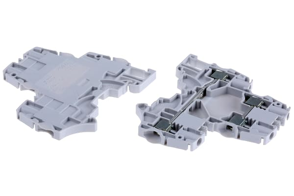 Product image for 4MM? DOUBLE DECK TERMINAL, GREY 1