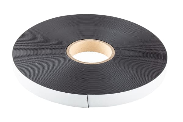 Product image for MAGNETIC STRIP,STD ADHESIVE,25X1.5X30