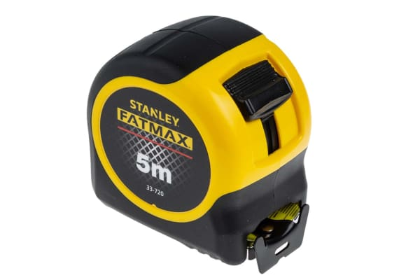 Product image for Stanley FatMax 5m Tape Measure, Metric