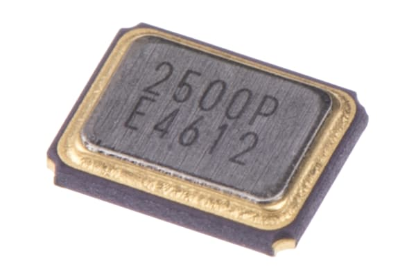 Product image for CRYSTAL SMD 25.000MHZ 2.5X3.2MM