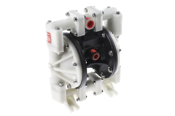 Product image for Tecnomatic Diaphragm Air Operated Positive Displacement Pump, 53L/min