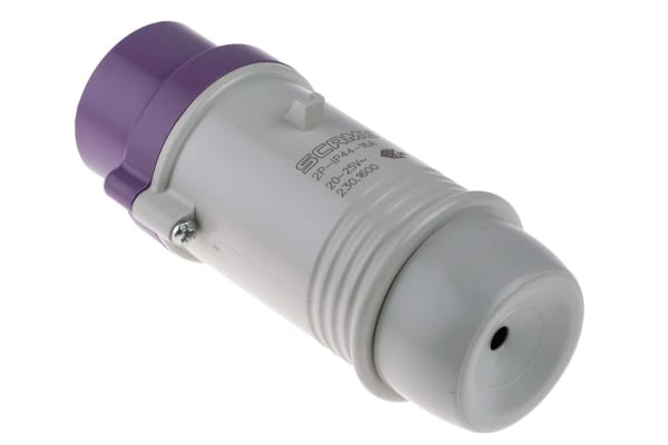 Product image for 16A 2P 20-25V Low Voltage Plug IP44