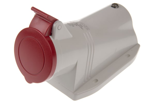 Product image for 16A 3P+E 400V Surface Socket IP44