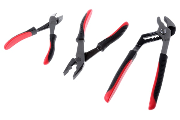 Product image for 3 Piece Plier & Cutter set