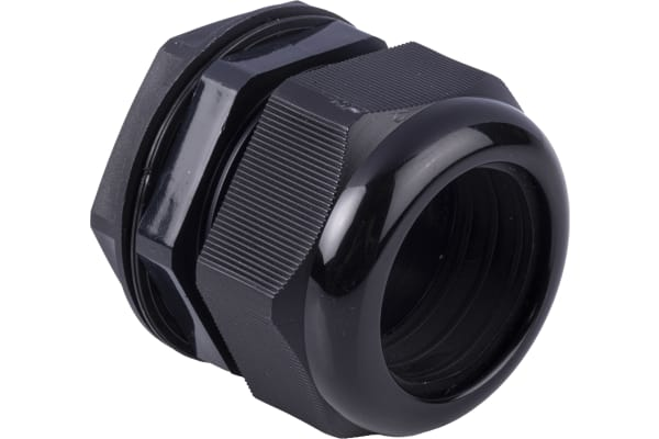 Product image for Blk Roundtop IP68 30-38mm Cablegland,M50