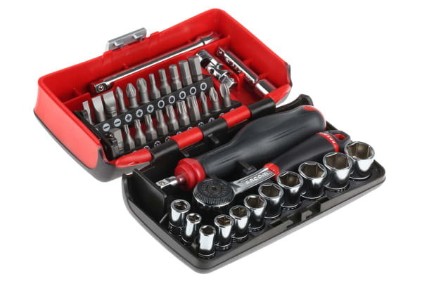 Product image for socket & screwdriver bit set