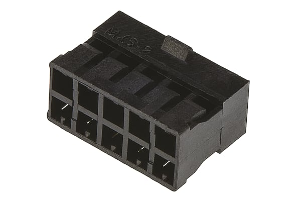 Product image for Molex, Milli-Grid Female Connector Housing, 2mm Pitch, 10 Way, 2 Row