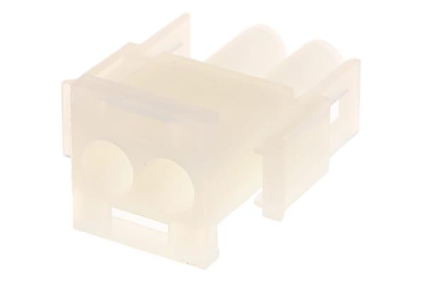 Product image for Housing plug 2.13mm MLX,2w,UL94V-2