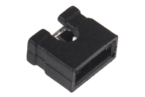 Product image for 2W OPEN HOUSING JUMPER 2.54MM PITCH