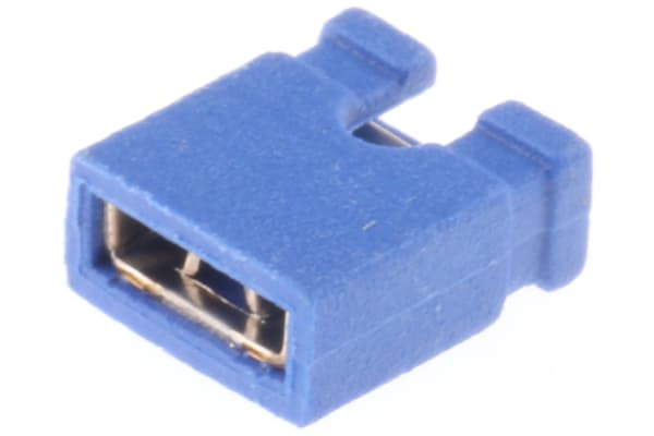 Product image for 2W JUMPER  2.54MM BLUE