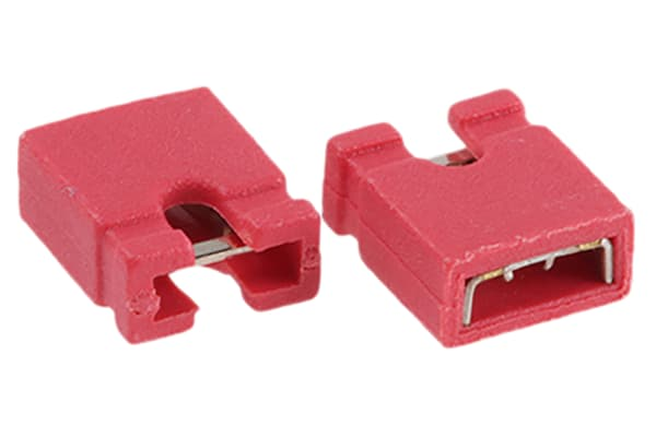 Product image for 2W JUMPER  2.54MM RED
