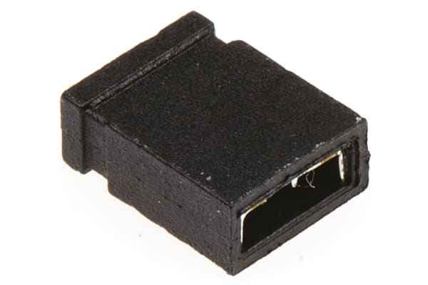 Product image for 2W CLOSED HOUSING JUMPER 2.54MM PITCH
