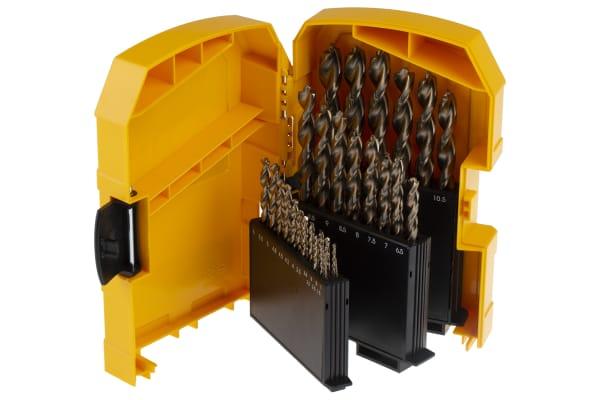 Product image for 29pc Cobalt Drill Bit Set