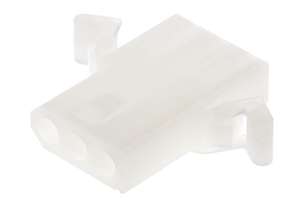 Product image for 1.57mm,housing,receptacle,PrBntEar,3way